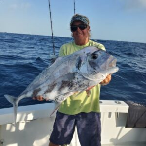 African pompano offshore